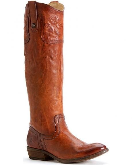 Frye Women's Carson Riding Button Boots - Round Toe