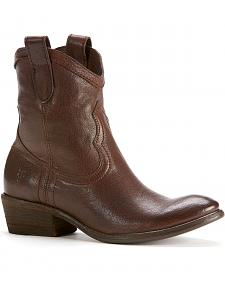 Frye Women's Carson Short Boots - Round Toe