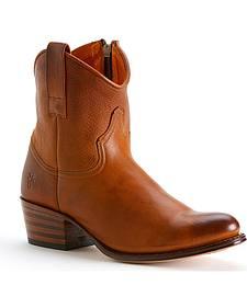 Frye Women's Deborah Short Boots - Round Toe