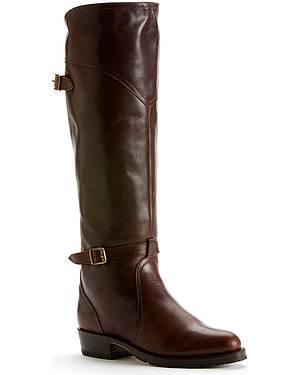 Frye Womens Dorado Lug Riding Boots - Round Toe