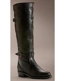 Frye Women's Dorado Lug Riding Boots - Round Toe