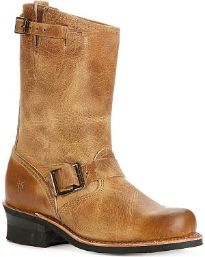 Frye Womens Engineer 12R Boots - Round Toe