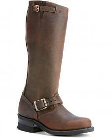 Frye Women's Engineer 15R Riding Boots - Round Toe