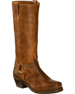 Frye Womens Harness 15R Riding Boots - Square Toe