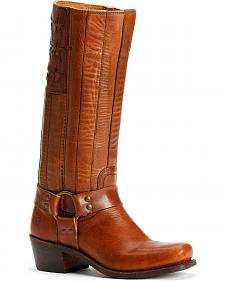 Frye Women's Harness Americana Tall Boots - Square Toe