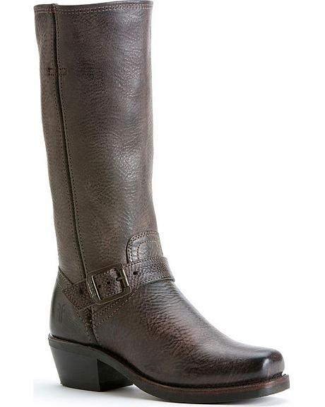 Frye Women's Harness Strap 12R Boots - Square Toe