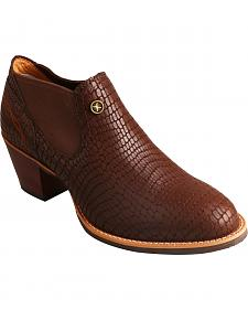 Twisted X Brown Fashion Cowgirl Boots - Round Toe