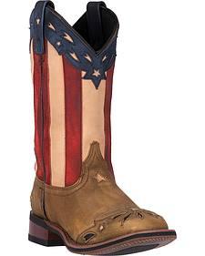 Laredo Freedom Cowgirl Boots - Square Toe