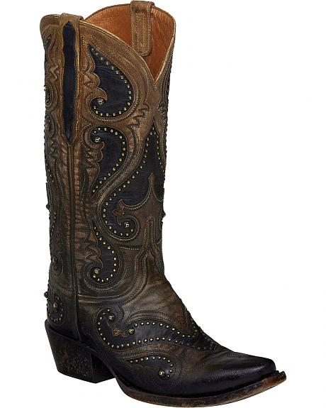 Lucchese Pearl Ombre Gemma Cowgirl Boots - Snip Toe