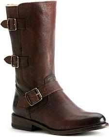 Frye Women's Jayden Moto Cuff Boots - Round Toe