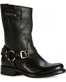 Frye Women's Jenna Chain Short Boots - Round Toe