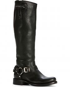 Frye Women's Jenna Chain Riding Boots - Round Toe