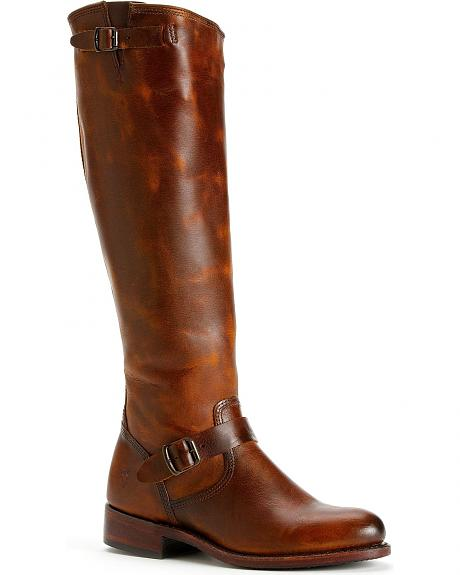 Frye Women's Jet Engineer Tall Boots - Round Toe