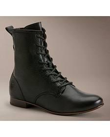 Frye Women's Jillian Lace-up Shoes - Round Toe