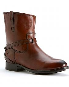 Frye Women's Lindsay Plate Short Boots - Round Toe