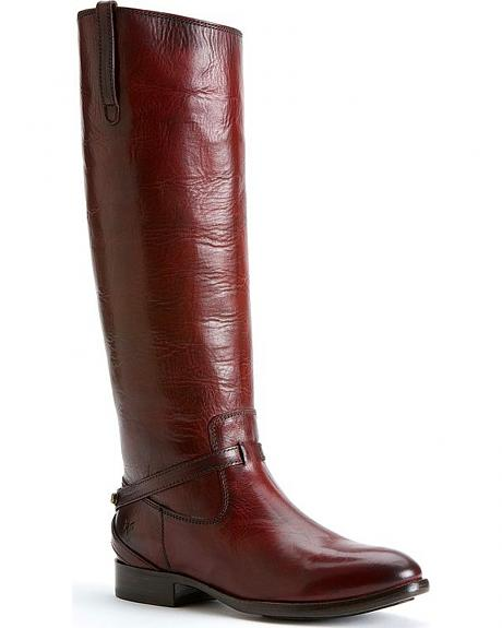 Frye Women's Lindsay Plate Boots - Round Toe