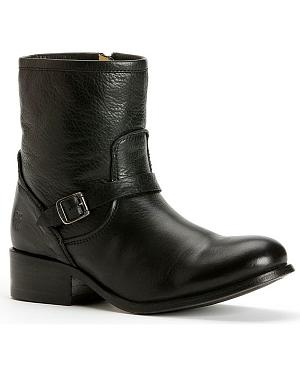 Frye Womens Lynn Strap Short Boots