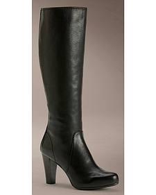 Frye Women's Marissa Back Zipper Tall Boots - Round Toe