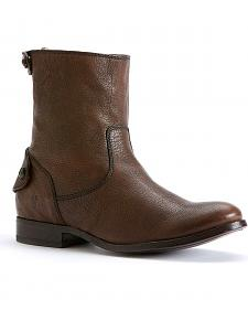 Frye Women's Melissa Button Zipper Short Boots - Round Toe