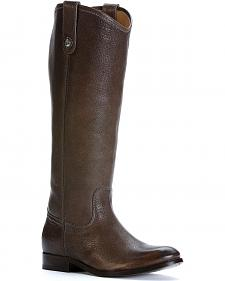 Frye Women's Melissa Button Tall Boots - Round Toe