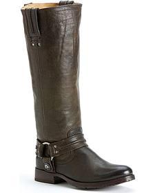 Frye Women's Melissa Harness Boots - Round Toe