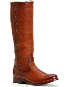 Frye Women's Melissa Military Riding Boots - Round Toe