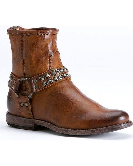 Frye Women's Phillip Studded Harness Boots