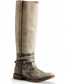 Frye Women's Shirley Riding Plate Boots - Round Toe