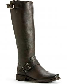 Frye Women's Smith Engineer Tall - Square Toe