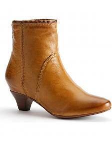 Frye Women's Steffi Zip Short Boots - Round Toe
