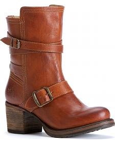 Frye Women's Vera Strappy Boots - Round Toe