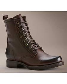 Frye Women's Veronica Combat Boots - Round Toe
