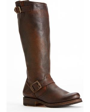 Frye Womens Veronica Slouch Riding Boots