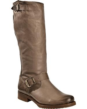 Frye Womens Veronica Slouch Riding Boots - Round Toe