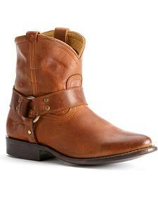 Frye Women's Wyatt Harness Short Boots - Round Toe