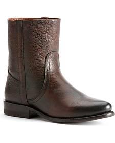Frye Women's Wyatt Vintage Short Boots - Round Toe