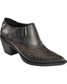 Roper Inlay Ankle Boots - Pointed Toe