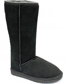 "Dije California Women's 14"" Classic Sheepskin Boots"