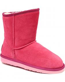 "Dije California Women's 7"" Classic Sheepskin Boots"