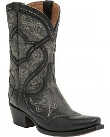 Lucchese Handcrafted 1883 Women's Audine Cowgirl Boots - Snip Toe