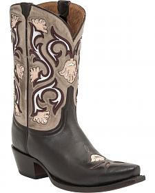 Lucchese Handcrafted 1883 Women's Belle Cowgirl Boots - Snip Toe