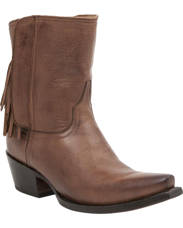 Fantastic Lucchese Handmade 1883 Womenu0026#39;s Sarabeth Short Cowgirl Boots - Snip Toe - Sheplers