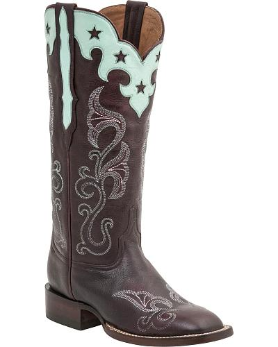 Lucchese Handcrafted 1883 Womens Jenna Cowgirl Boots Round Toe