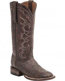 Lucchese Handcrafted 1883 Coralee Distressed Cowgirl Boots - Square Toe