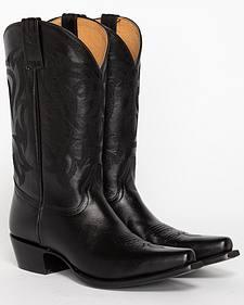 Shyanne Women's Black Cowgirl Boots - Snip Toe