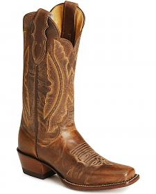 Justin Vintage Goatskin Cowgirl Boots