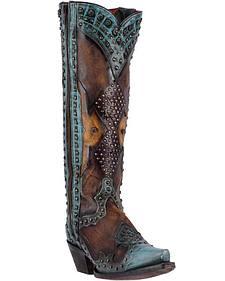 Dan Post Women's Brown Natasha Boots - Snip Toe