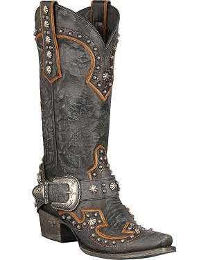Lane Boots Your Harness Studded Cowgirl Boots - Snip Toe