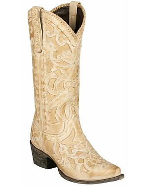 Lane Robin Cowgirl Boots - Snip Toe