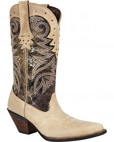 Durango Women's Crush Western Collar Cowgirl Boots - Pointed Toe